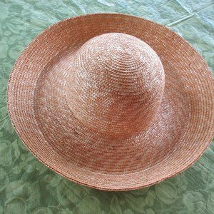 Betmar Made in Italy 100% Straw Wide Brim Hat